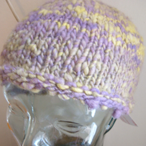 Purple/Yellow Hat